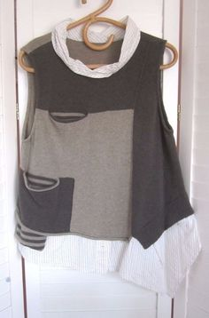 From MOYURU Paris-Quirky,S/less Top/Shirt-Great Colours - Fit 14-16 #PurchasedatMoyuruParis