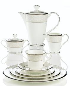 Noritake Silver Palace Dinnerware - Fine China - Macy's