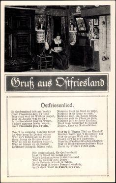 Lied Ak Gruß aus Ostfriesland, Ostfriesenlied, In Ostfriesland ist am besten.. #OstFriesland