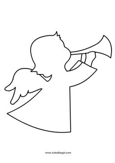 sagoma-angelo
