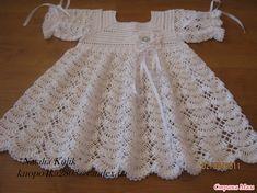 White Dress free crochet graph pattern  Berenice