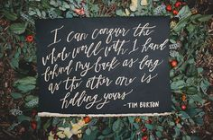 Quotes About Wedding : calligraphy quote