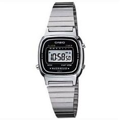 Relógio Casio Feminino Vintage LA670WA-1DF  | Extra.com.br