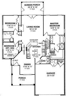 Modern Home Plans One Story in addition 2011 10 01 archive as well Planos further Floor Plans further Home Plans. on 1 story courtyard house plans