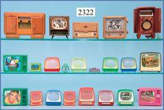 Dollhouse Interiors, Dollhouse Design, Vintage Dollhouse, Vintage Dolls, Retro Vintage, Miniature Rooms, Miniature Dollhouse, Diy Dollhouse, Doll Furniture