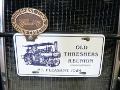 Visit The Old Threshers Reunion at Mt Pleasant, Iowa with www.toursgallery.com 2018 small group tour for collectors and restorers of all old machinery, cars, tractors, engines and more