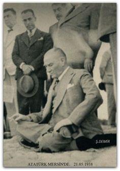 Atatürk Mersin'de. Mayıs 1938