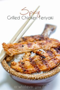 Fire up the grill this summer and enjoy the vibrant flavor of this spicy grilled chicken teriyaki recipe.