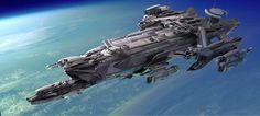 Star Citizen Idris Corvette