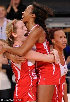 England Netball celebrate their first ever series win over Australia, betting the diamonds 51 - 49 in Sunday's final test match. And they are at our stand this week!