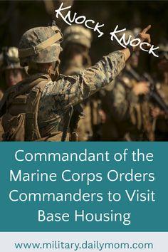 Marine Corps Commandant to Visit Base Housing