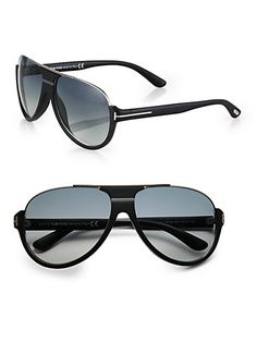 Tom Ford Eyewear - Dimitry Aviator Sunglasses - Saks.com