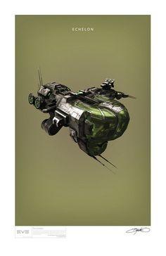 Echelon Art Print Poster | por Bryan K Ward