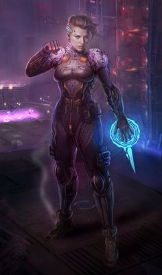 Science Fiction World — cyberclays:   SpaceNinja - by Shin500 (Lim Chuan...