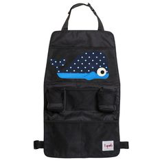 3 Sprouts Backseat Car Organizer Whale - Hit the open road with the 3 Sprouts Backseat Organizer!
