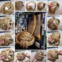 34 Amazing DIY Tips to Decorate Your Home Using Rope 25