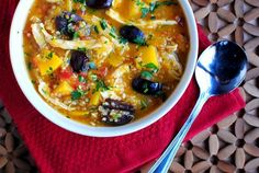 Chicken Stew with Butternut Squash & Quinoa - something to try before summertime