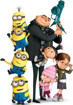 14 Inch Gru Edith Agnes Margo Minions Despicable Me Removable Wall Decal Sticker Art Home Decor Kids Inch Wide By 14 Inch Tall -- Click image for more details. (This is an affiliate link) Image Minions, Cute Minions, Minion Movie, Minions Despicable Me, Minion Party, My Minion, Minion Stuff, Evil Minions, Despicable Me