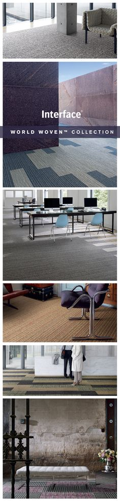 We looked to the classics to inspire our new collection, World Woven. The line has a relaxed, handcrafted feel that recalls beloved textiles. Vintage classics with a modern design to transform office floors and revitalize public spaces. #WorldWoven