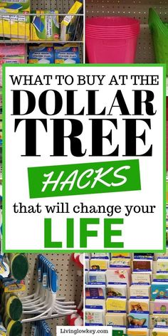 Wondering what to buy at the Dollar Tree! You have to check out these must have money saving finds. These cheap dollar tree hacks will save you money on everyday essentials for your home. I need to start shopping here on the regular. Dollar Store Hacks, Dollar Store Crafts, Dollar Stores, Dollar Store Decorating, Dollar Dollar, Dollar Bills, Dollar Tree Finds, Dollar Tree Store, Dollar Tree Decor