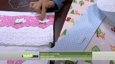 Mulher.com - 19/04/2016 - Trabalho com réguas de barrado - Deize Costa PT1