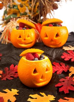 Halloween Fruit Cups by Janice Amee's Gluten-Free