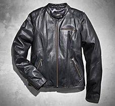 Bling Harley Leather Jacket