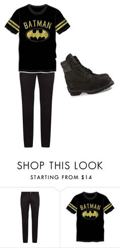 """my chemical romance"" by lady-shadylady ❤ liked on Polyvore featuring Dolce&Gabbana, Bioworld, Timberland, men's fashion and menswear"