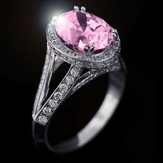 1000 images about pretty in pink on pinterest pink for Man made sapphire jewelry