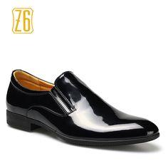 Encontrar Más Pisos para hombres Información acerca de 39 44 hombres zapatos de boda Z6 marca negocios caballero classic señaló cuero del dedo del pie # w387   1, alta calidad zapatos de teléfono, China zapatos de estilo de vida Proveedores, barato cámara de calzado de Z6 Flagship store en Aliexpress.com
