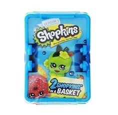 Wendy picked this  Shopkins Shopping Basket - Includes 2 Shopkins!