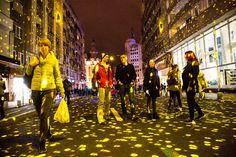 Photographis: Spotlight - International festival of lights Bucha...
