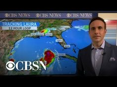 Hurricane Laura hit western Louisiana with a devastating blow at 2 a.m. EDT Thursday, August 27, 2020, making landfall as a category 4 storm with 150 mph winds with sustained winds. 2 Am, Category 4, August 27, News Track, Cbs News, Louisiana, New Orleans, Thursday, American