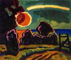 Karl Schmidt-Rottluff (1884–1976) werd in Rottluff bij Chemnitz (Saksen) geboren en noemde zich vanaf 1905 Schmidt-Rottluff. Op 7 juni 1905 werd in Dresden de kunstenaarsgroep Die Brücke opgericht door Schmidt-Rottluff, Ernst Ludwig Kirchner, Fritz Bleyl en Erich Heckel.
