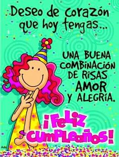 #FelizCumpleaños #Cumpleaños Feliz Cumpleaños Imagenes Para Regalar