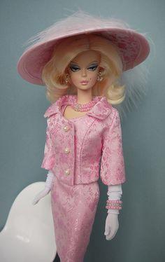Barbie ~ Fashion looks like a Chanel suit.