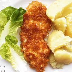 Kotlety z kurczaka w panierce kukurydzianej