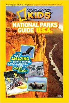 Introduce your young explorers to the nation's best idea- the National Parks! This guide features tips on exploration, information about animals, fun facts, maps, and cool things to do. National Geographic Kids National Parks Guide U. Book Reviews For Kids, National Geographic Kids, Reading Levels, Natural Wonders, So Little Time, Childrens Books, Fun Facts, National Parks, Coast