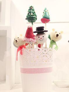 Christmas cakepops - dulcesmimos.com