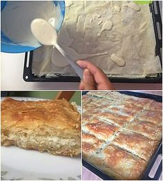 Pureed Food Recipes, Greek Recipes, Desert Recipes, Cooking Recipes, Greek Cooking, Cooking Time, Cooking Stuff, Greek Cake, Quiche