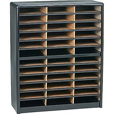 Safco® Value Sorter Literature Organizer 36 Compartment Black  sc 1 st  Pinterest & Pin by Jenny Bapton MS RD on Dietitian References | Pinterest ...