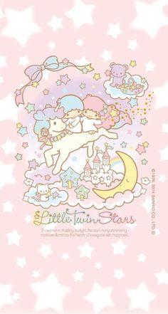 Little Twin Stars Wallpaper