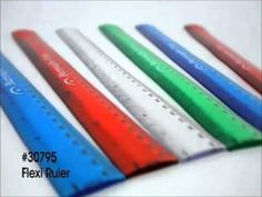 """- 12"""" ruler is great for back to school programs - Includes both inches and centimeters"""