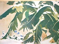 Snow in Tropical Island Vintage Print Japanese by VintageFromJapan, $12.00