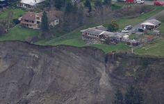 Earth opens up in massive landslide on Whidbey Island, off the coast of Washington Posted on March 28, 2013