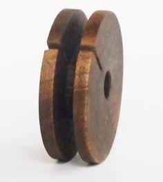 Wooden Earphone Holder Earbud Cord Organizer by RealWoodStudio