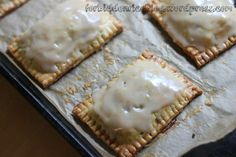 Homemade Apple-Ginger and Lemon-Peach Pop Tarts with Vanilla Glaze