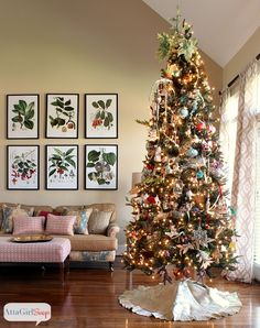 #43 Atta Girl Says 2013 Christmas Home Tour & Holiday Decorating Ideas - HomeGoods Design Happy Blog - Holiday Home - (first) Link Party - Holiday Highlights