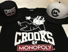 CROOKS & CASTLES x MONOPOLY x NEW ERA 59Fifty Fitted Baseball Cap Preview