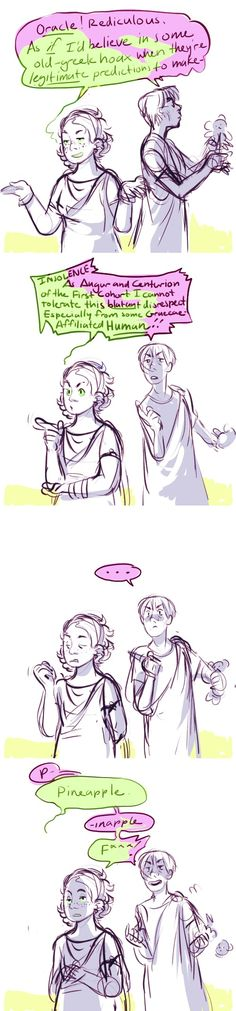 Plot Twist: Rachel doesn't even have to channel the oracle its just that Octavian is incredibly predictable.   art by fuocogo